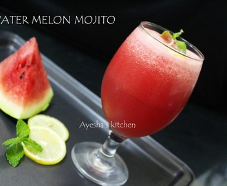 WATER MELON MOJITO - QUICK WELCOME DRINK RECIPE (non alcoholic)