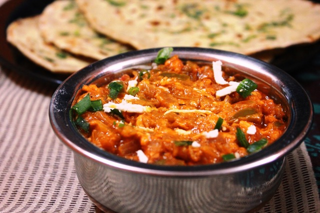 Paneer Bhurji Gravy - The Star Hotel Recipe