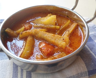 Raw Banana Curry |  Kancha Kadali Tarakari | Recipe from Orissa