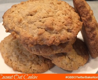 Coconut Oat Cookies