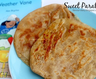 Sweet Paratha | How to make sugar sweet paratha Recipe | Flavour Diary