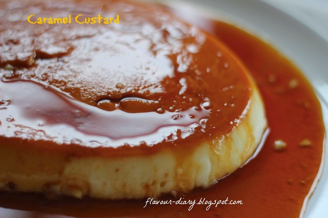 Caramel Custard | How to make Caramel Custard Recipe | Flavour Diary