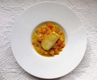 CURRY DE POISSON À LA PATATE DOUCE