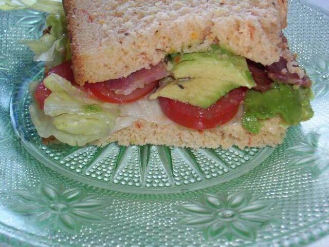 Panera Bread Tex Mex Bacon, Lettuce and Tomato Recipe