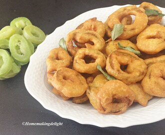 Snake Gourd Fritters Recipe – Pudalangai Bajji Recipe – Easy Tea time snack