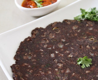 Ragi Roti Recipe, How To Make Ragi Chapati
