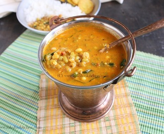 Mooga Gathi | Goan Style Sprouted Green Gram In Coconut Gravy