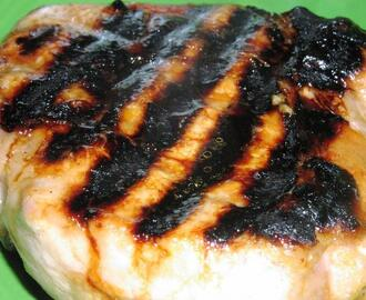 Grilled Mustard-Honey Garlic Pork Chops (Low Fat)