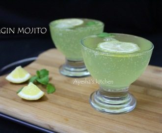 VIRJIN MOJITO - MOCKTAIL RECIPES