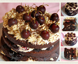 The Hairy Bikers Black Forest gateau / O bolo Floresta Negra dos Hairy Bikers!