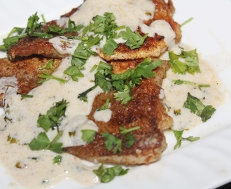 Pan Seared Fish Fillets with Creamy Lemon Butter Sauce - Continental Food 6