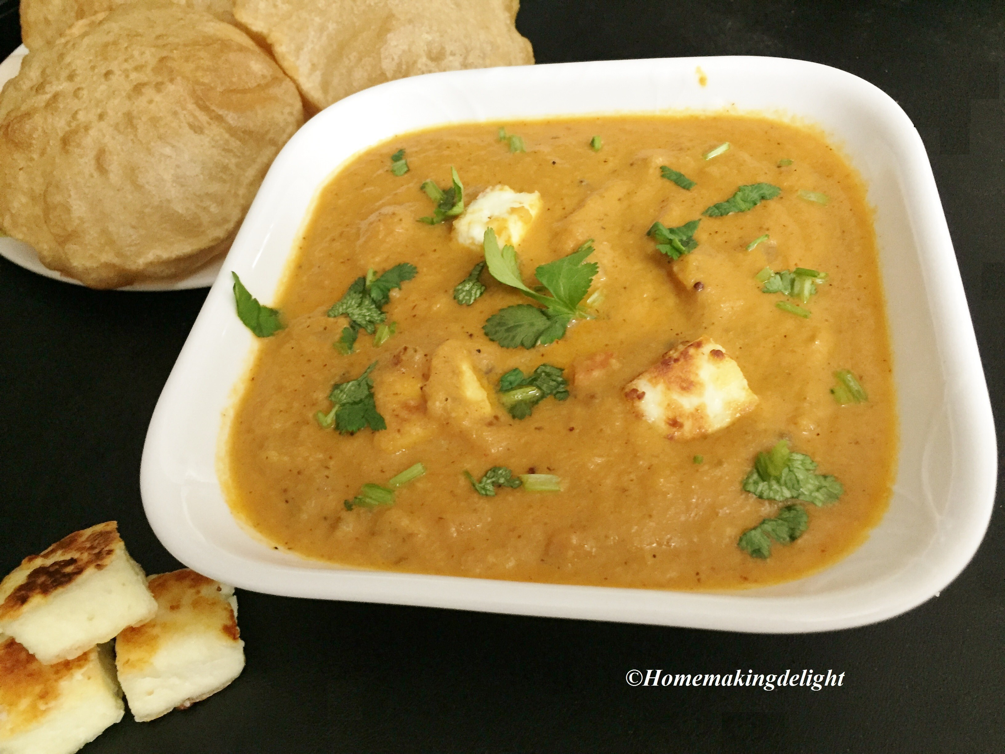 Paneer Gravy Recipe – Simple Indian Cottage Cheese Gravy Recipe