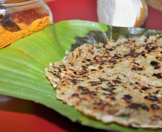 Sabudana Thalipeeth - a Maharastrian delicacy made my way