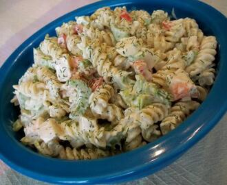 Seafood Rotini Salad for 25