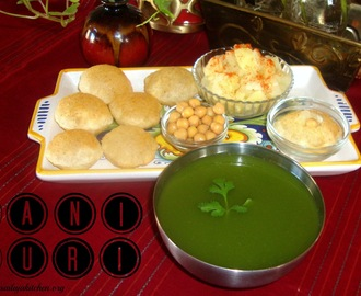 Pani Puri Recipe / Pani Poori Recipe / How To Make Pani Puri
