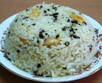 Milagu Sadam (Black Pepper Rice)