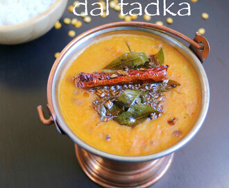 dal tadka recipe | restaurant style dal tadka
