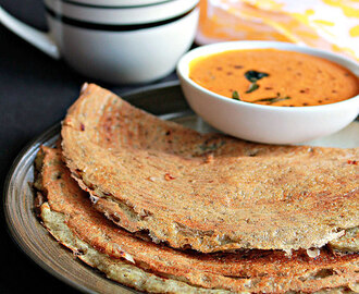 Pesarattu, Moong Dal Dosa, How To Make Green Gram Dosa