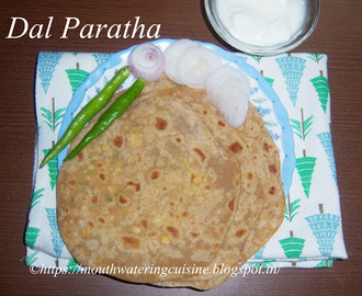 Dal Paratha Recipe -- How to make Dal Paratha Recipe