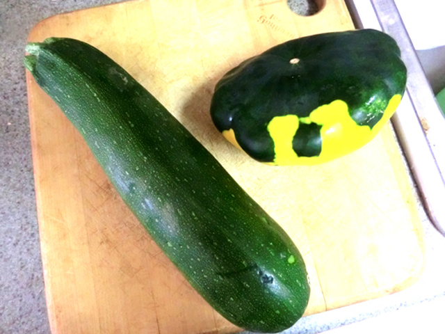 Italian Roasted Zucchini And Pattypan Squash & An Award