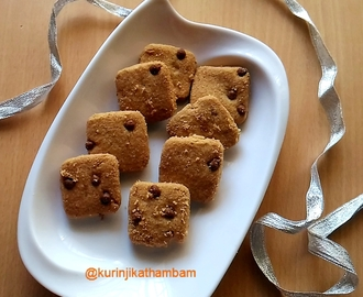 Health Mix Powder Cookies / Sathu Maavu Cookies without Sugar