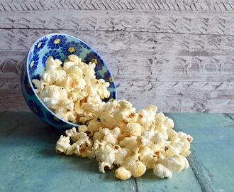Gluten and Dairy Free Cinema Style Sweet Popcorn