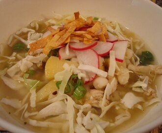 Chicken Verde Posole