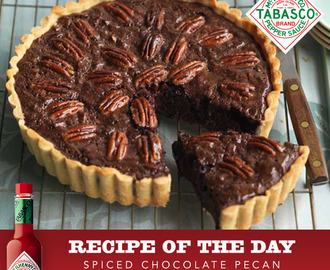 Spiced Chocolate Pecan Pie Recipe