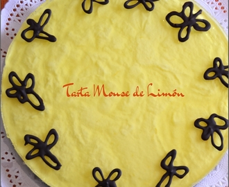 TARTA MOUSSE DE LIMON (Thermomix)