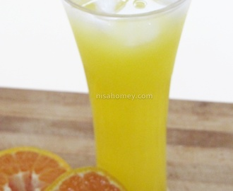 Orange Squash Recipe - How To Make Orange Squash At Home