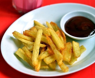 French Fries Recipe-Crispy Homemade French Fries