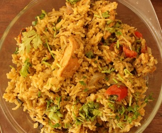 Mint Lemon Chicken Biriyani