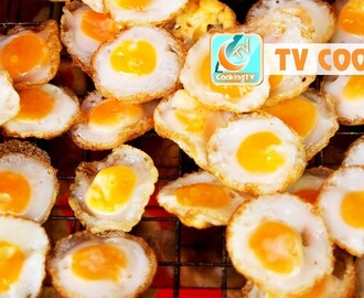 Amazing street food from eggs