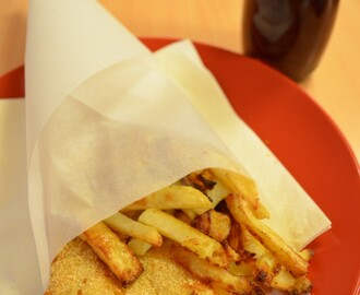 Fish and Chips #Défi Street Food from around the World""