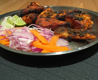 Oven grilled fish ( Indian style)