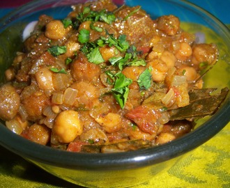 Chana Masala Recipe -- Chole Curry -- How to make Chana Masala Curry