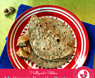Healthy Multigrain Paratha Recipe