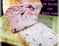 Brioche con frutos rojos sin lactosa con panificadora , Brioche with red berries without lactose with bread maker , Brioche mit roten Beeren ohne Laktose mit Brotbackmaschine , Brioche aux baies rouges sans lactose avec machine à pain ,ب، الأحمر، التوت، ب، اللاكتوز، ب، صانع الخبز ,带有面包机的没有乳糖的红色浆果的奶油蛋卷