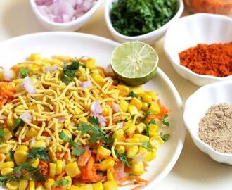 Sweet Corn Chaat Recipe