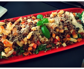Chicken Mince & Halloumi Mix  (TopNotch Cooking)