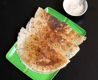 oats dosa recipe | instant oats dosa recipe