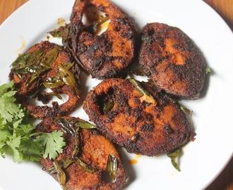 how to make vanjaram fish fry in telugu