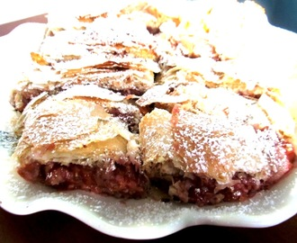 Hungarian Sour Cherry Strudel