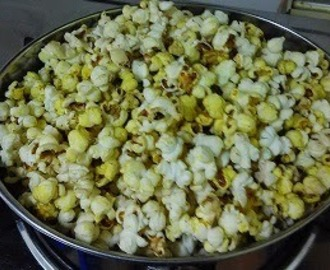 Stove top Salted  Popcorn