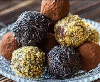 Τρούφες σοκολάτας- Chocolate Truffles, by Akis and akispetretzikis.com!