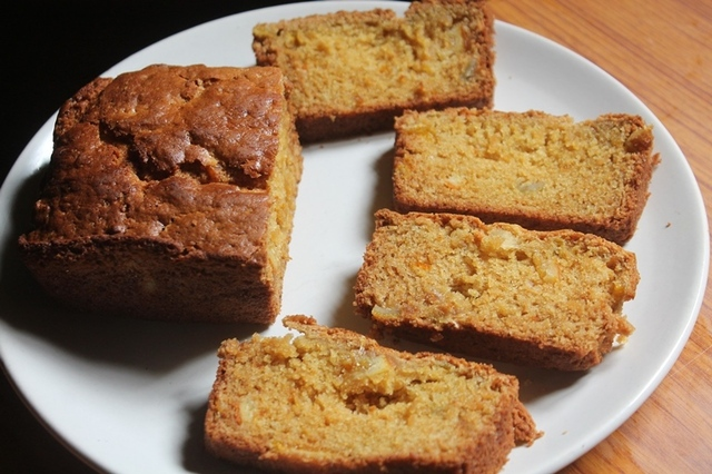 Eggless Orange Marmalade Cake Recipe - Marmalade Loaf Cake Recipe