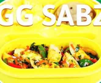 Eggs Sabzi Recipe