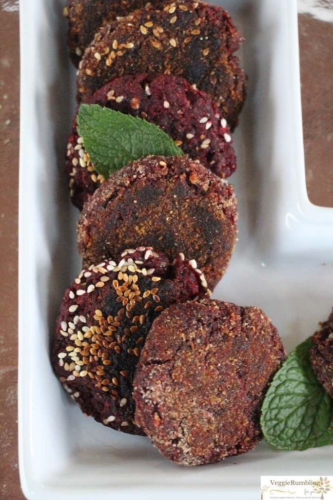 Beet, Oats and Flax Seed Tikki / Croquette/ Cutlets