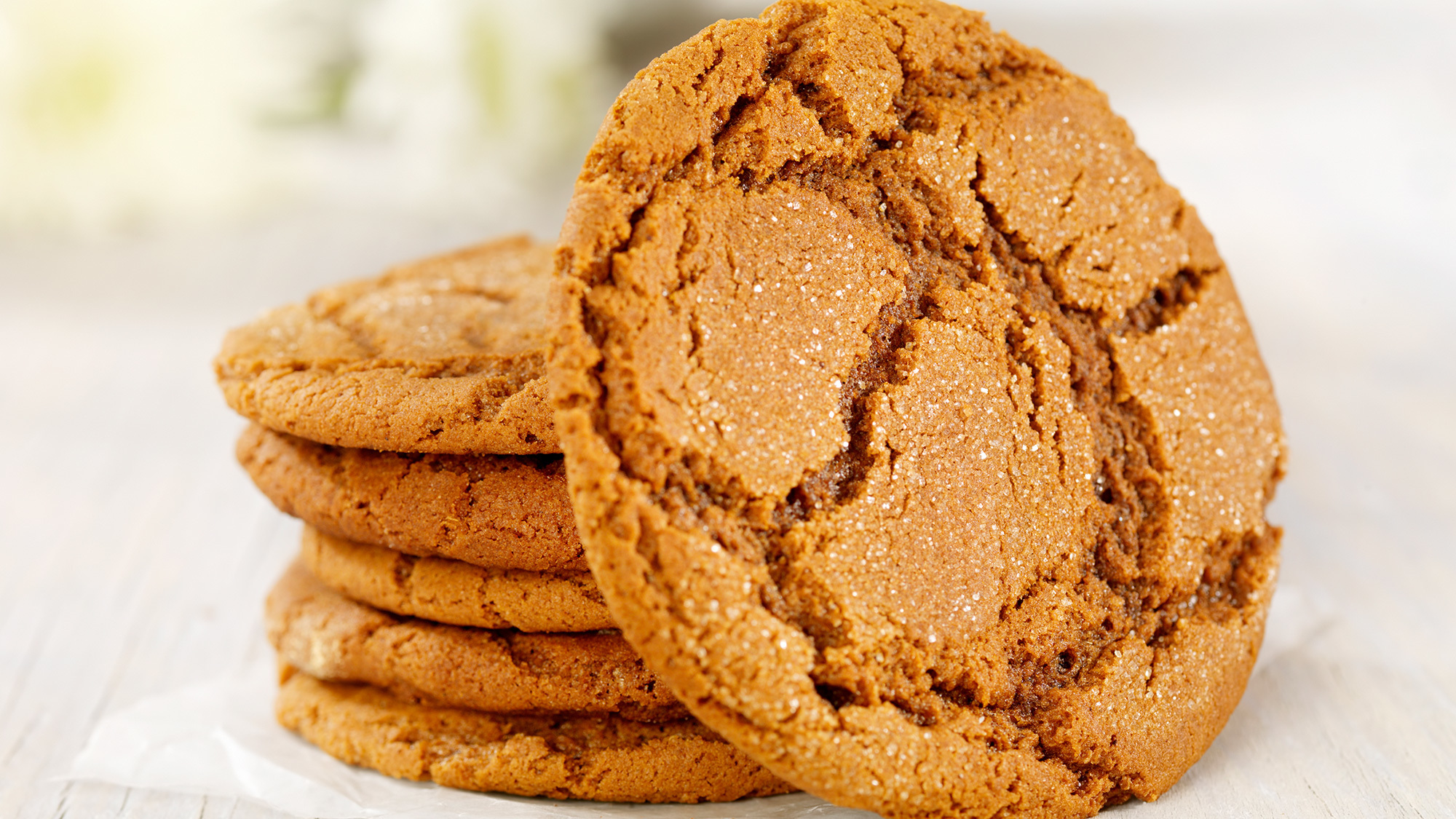 Ginger Crunch Biscuits