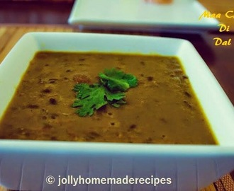 Maa Chole Di Dal Recipe | Punjabi Maa Choleyan Ki Dal Recipe